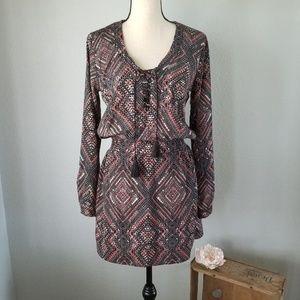 Pixley Stitch fix print dress Size small